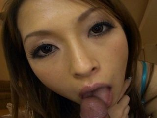Enjoy Hikaru Houzuki giving a sexy blowjob