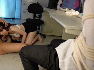 Adorable office lady got fucked after work