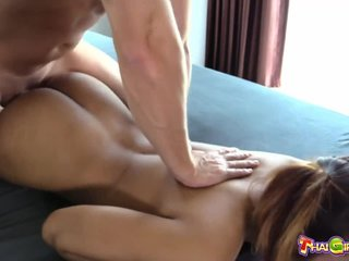 I fuck and fill pussy of sexy girl Roong